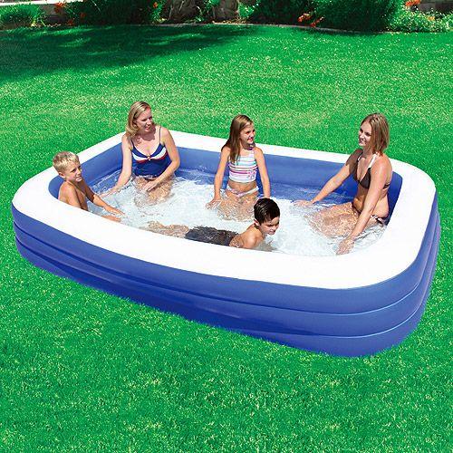 Brilliant White Blue Small Portable Swimming Pools Design